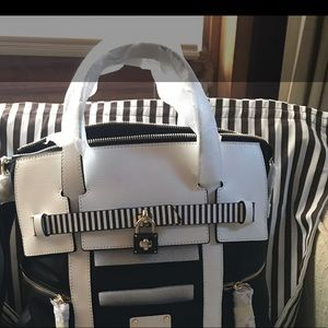 Large Henri Bendel Iconic Convertible Backpack